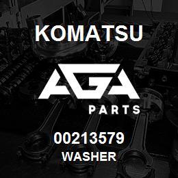 00213579 Komatsu WASHER | AGA Parts