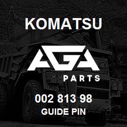 002 813 98 Komatsu Guide pin | AGA Parts
