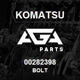 00282398 Komatsu BOLT | AGA Parts