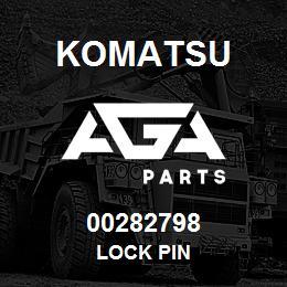 00282798 Komatsu LOCK PIN | AGA Parts