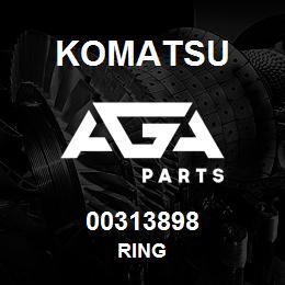 00313898 Komatsu RING | AGA Parts