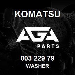 003 229 79 Komatsu Washer | AGA Parts