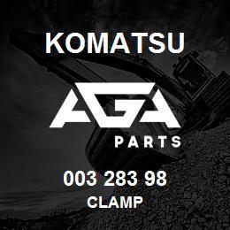 003 283 98 Komatsu Clamp | AGA Parts