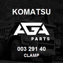 003 291 40 Komatsu Clamp | AGA Parts