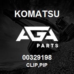 00329198 Komatsu CLIP,PIP | AGA Parts