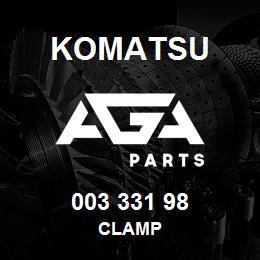 003 331 98 Komatsu Clamp | AGA Parts