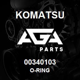 00340103 Komatsu O-RING   AGA Parts