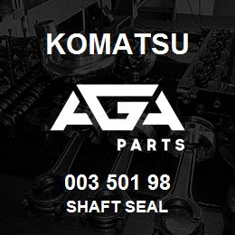 003 501 98 Komatsu Shaft seal | AGA Parts