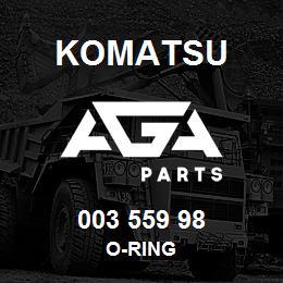 003 559 98 Komatsu O-ring   AGA Parts