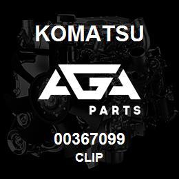00367099 Komatsu CLIP | AGA Parts