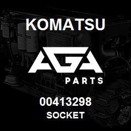 00413298 Komatsu SOCKET   AGA Parts