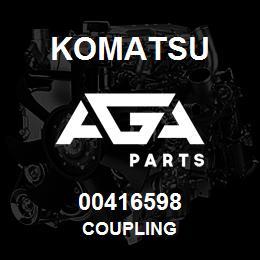 00416598 Komatsu COUPLING | AGA Parts
