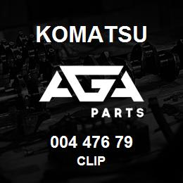 004 476 79 Komatsu Clip   AGA Parts