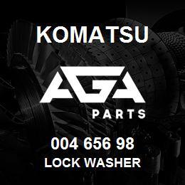 004 656 98 Komatsu Lock washer | AGA Parts