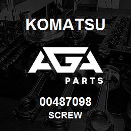 00487098 Komatsu SCREW   AGA Parts