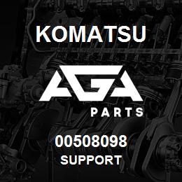 00508098 Komatsu SUPPORT   AGA Parts