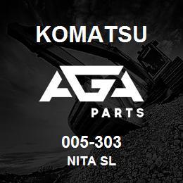 005-303 Komatsu NITA SL | AGA Parts