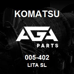 005-402 Komatsu LITA SL | AGA Parts