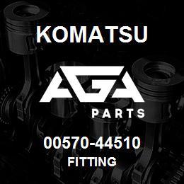 00570-44510 Komatsu FITTING | AGA Parts