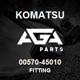 00570-45010 Komatsu FITTING | AGA Parts