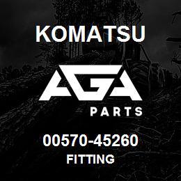 00570-45260 Komatsu FITTING | AGA Parts