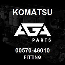 00570-46010 Komatsu FITTING | AGA Parts