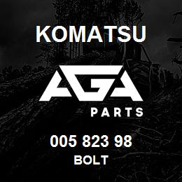 005 823 98 Komatsu Bolt   AGA Parts