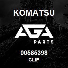 00585398 Komatsu CLIP | AGA Parts