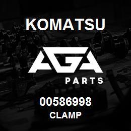00586998 Komatsu CLAMP | AGA Parts