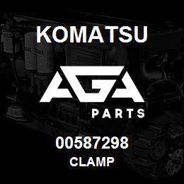 00587298 Komatsu CLAMP | AGA Parts