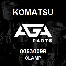 00630098 Komatsu CLAMP | AGA Parts