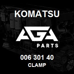 006 301 40 Komatsu Clamp | AGA Parts