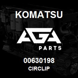 00630198 Komatsu CIRCLIP | AGA Parts