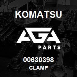 00630398 Komatsu CLAMP   AGA Parts