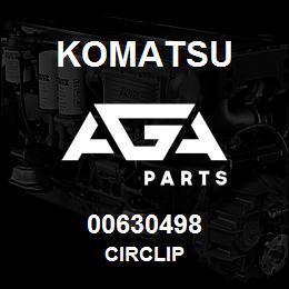 00630498 Komatsu CIRCLIP   AGA Parts