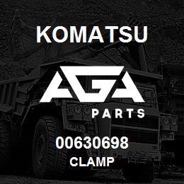 00630698 Komatsu CLAMP | AGA Parts