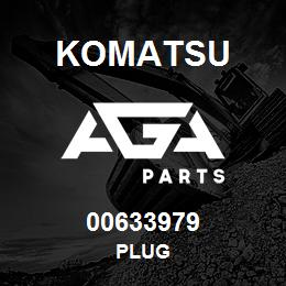 00633979 Komatsu PLUG | AGA Parts