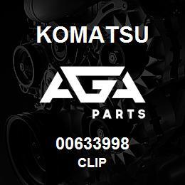 00633998 Komatsu CLIP | AGA Parts