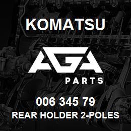 006 345 79 Komatsu Rear holder 2-poles | AGA Parts