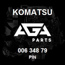006 348 79 Komatsu Pin | AGA Parts