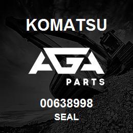 00638998 Komatsu SEAL | AGA Parts