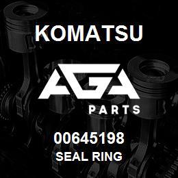 00645198 Komatsu SEAL RING | AGA Parts