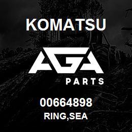 00664898 Komatsu RING,SEA | AGA Parts