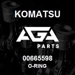 00665598 Komatsu O-RING | AGA Parts