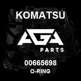 00665698 Komatsu O-RING | AGA Parts