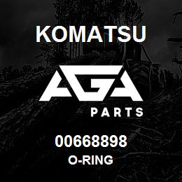 00668898 Komatsu O-RING | AGA Parts