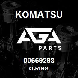 00669298 Komatsu O-RING | AGA Parts