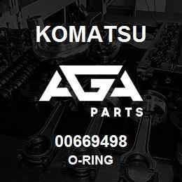 00669498 Komatsu O-RING | AGA Parts