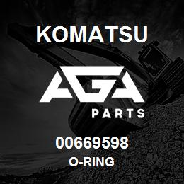 00669598 Komatsu O-RING | AGA Parts