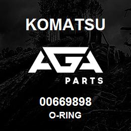 00669898 Komatsu O-RING | AGA Parts